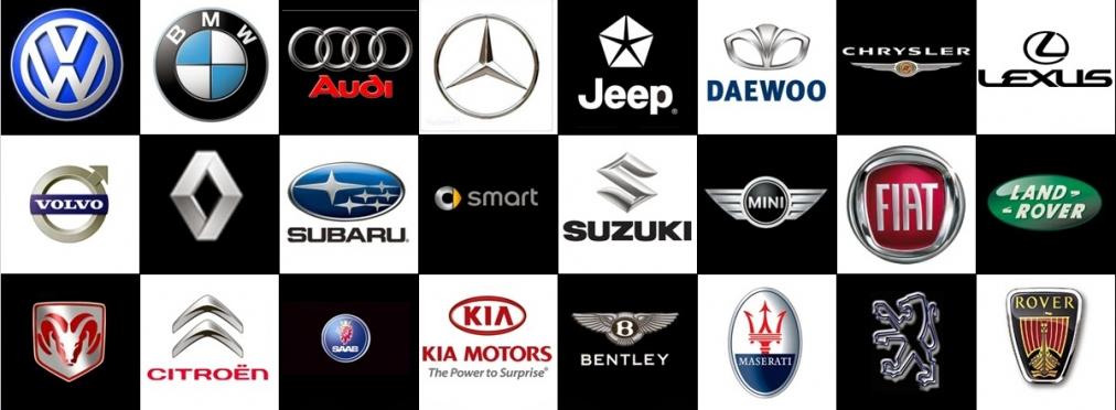 Американские машины марки список с фото