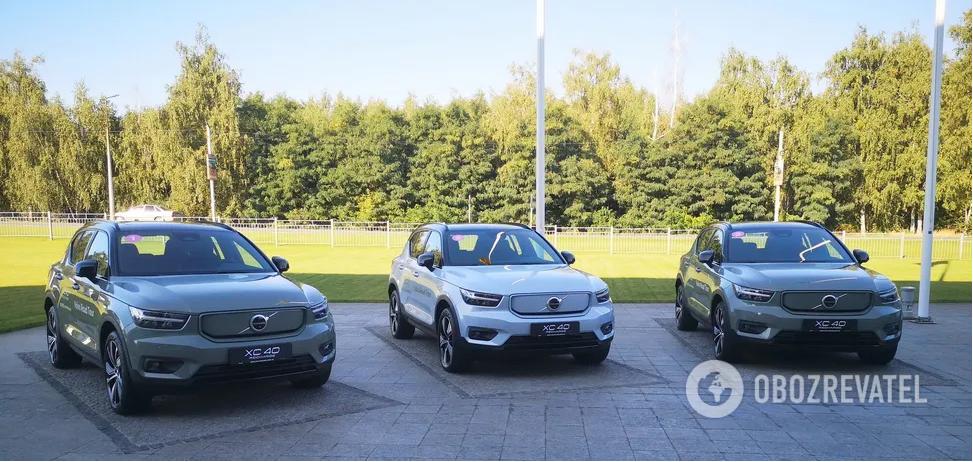В Украине презентовали электрокросс Volvo XC40 Recharge