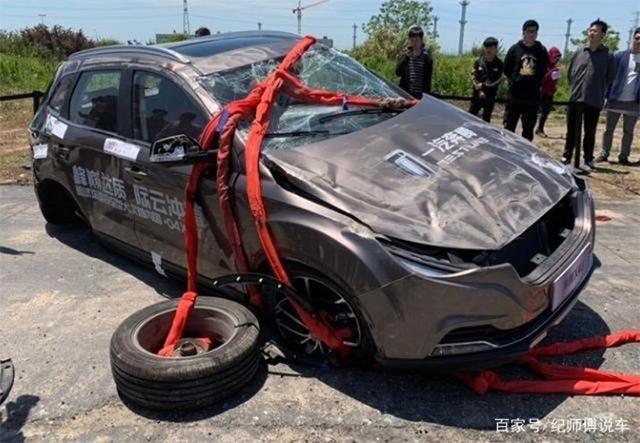 Китайцы придумали оригинальный способ краш-теста автомобилей