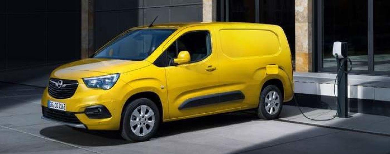 Компания Opel провела официальную презентацию фургона Combo-e