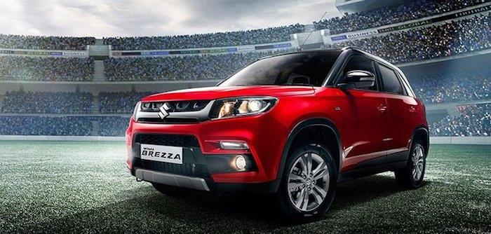 Suzuki Vitara Brezza по цене Vesta Cross стал бестселлером в Индии