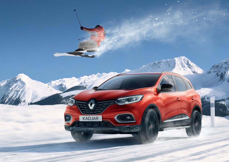 У кроссовера Renault Kadjar появилась «лыжная» версия