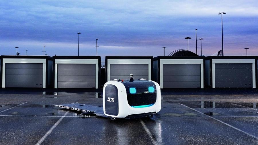 Роботы будут парковать автомобили в лондонском аэропорту