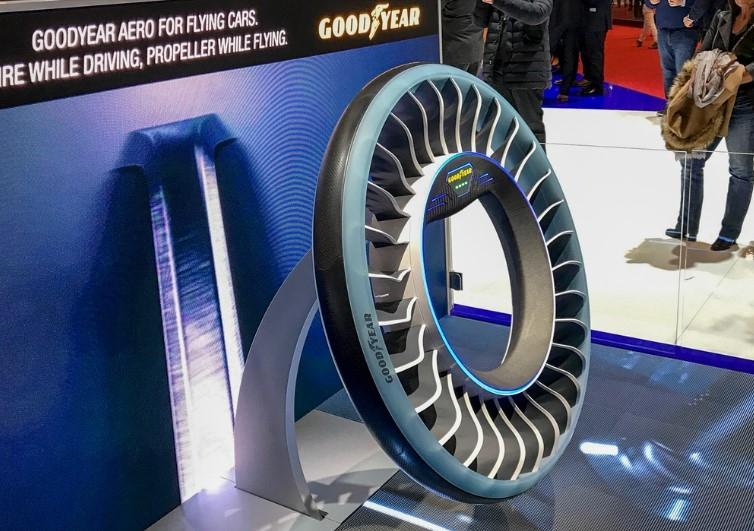 Для автомобилей придумали шину-пропеллер