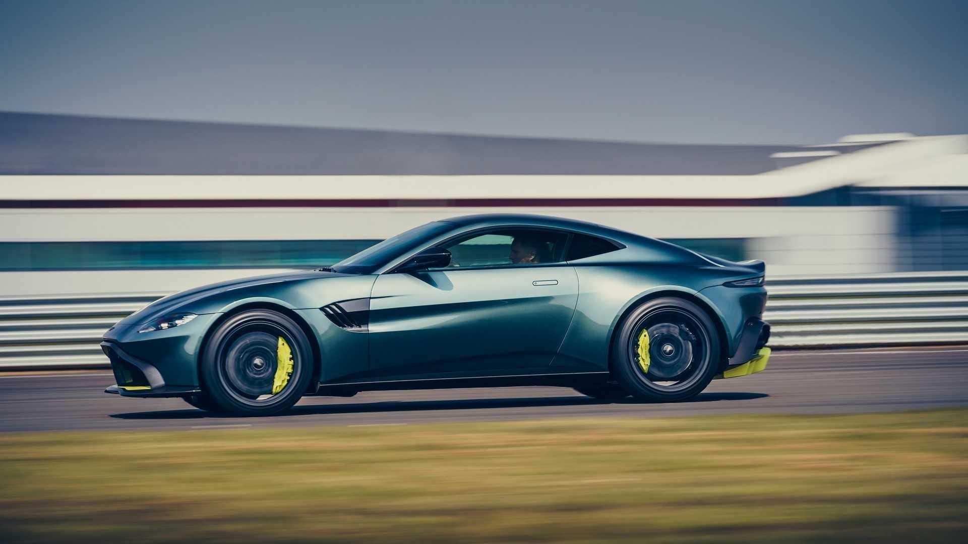 Aston Martin сделал облегчённый Vantage AMR с «механикой»