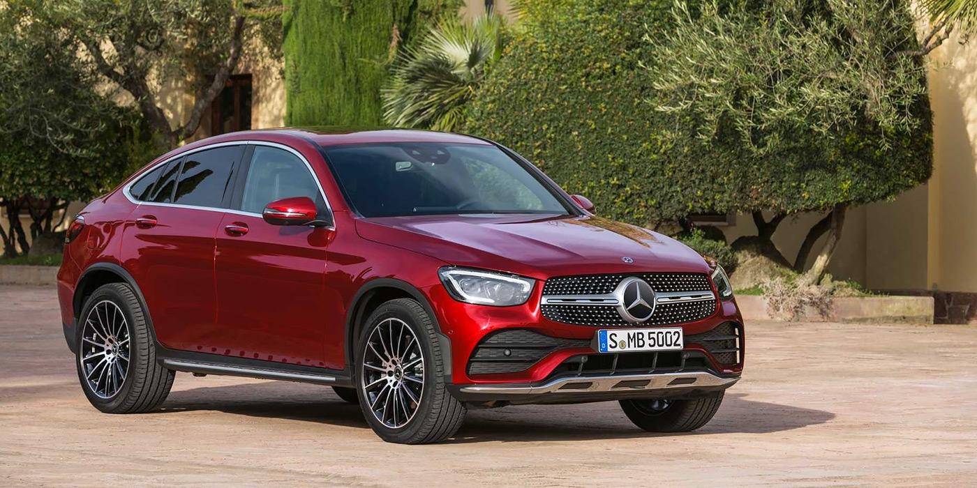 Mercedes представил обновленные GLC и GLC Coupe