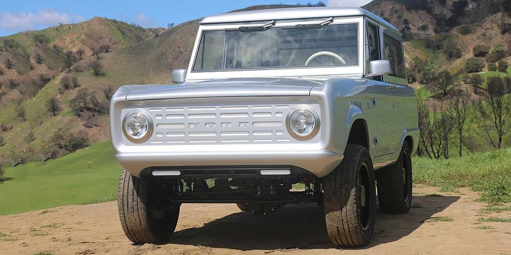 Классический внедорожник Ford Bronco перевели на электротягу