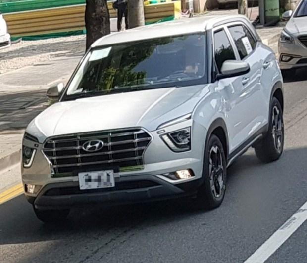 Hyundai Creta 2020 опять засветилась на дорогах