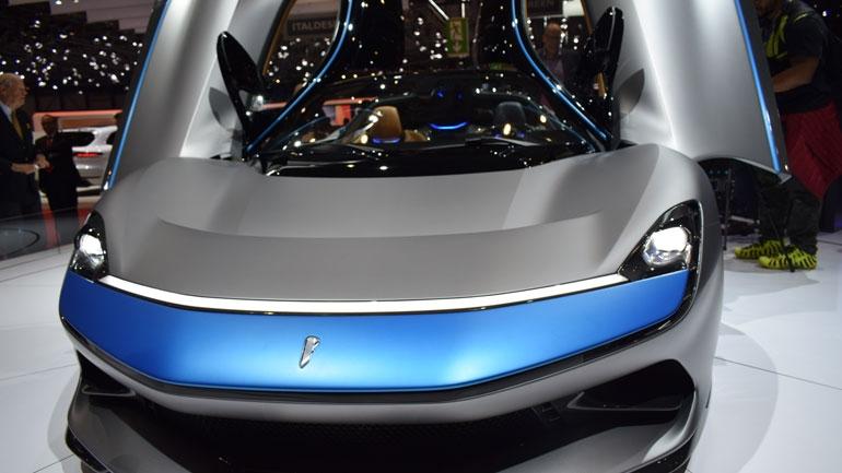 Ателье Pininfarina презентует модель Battista в Гудвуде