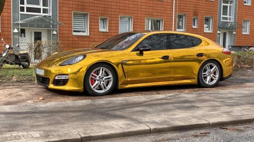 Владелец Porsche Panamera поплатился за тягу к гламуру