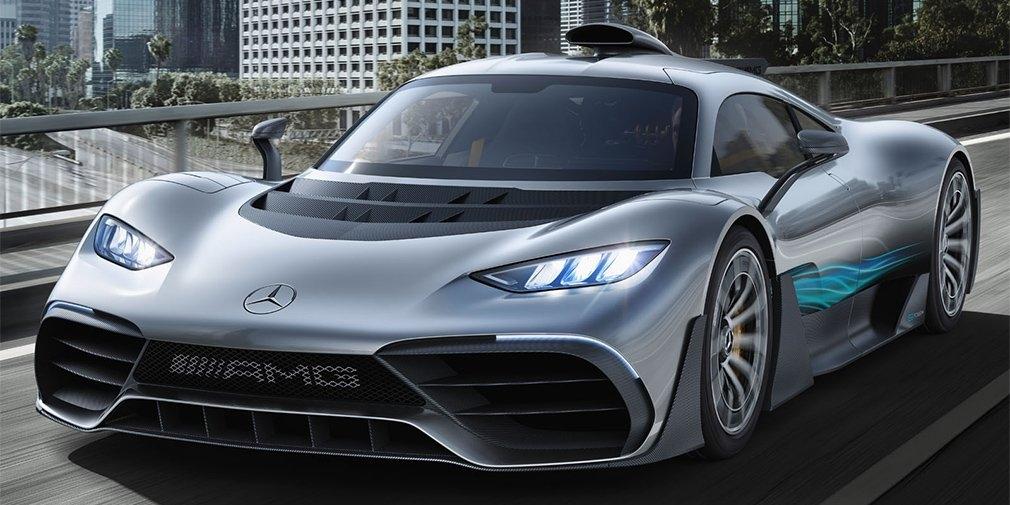 Mercedes-AMG отложил серийный выпуск флагманского гиперкара One