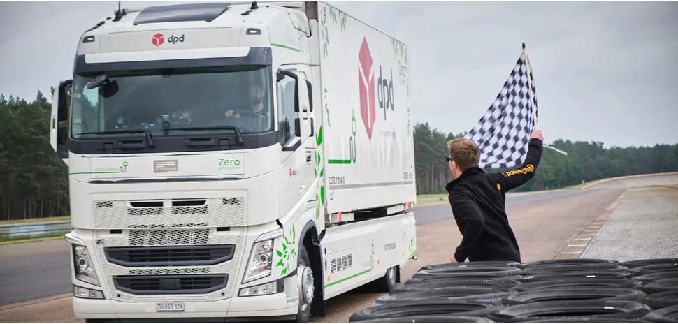 Новый рекорд: электрогрузовик Volvo проехал больше 1000 километров