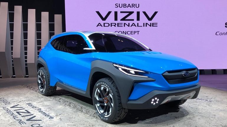 Subaru презентовала субкомпактный Viziv Adrenaline