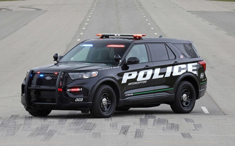 Ford выпустил очень быстрый внедорожник для полиции