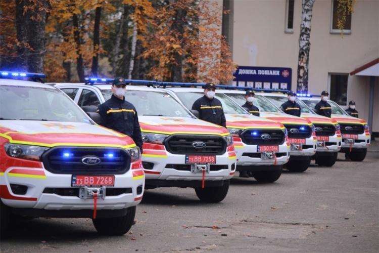 Для ликвидации последствий ДПТ государство закупило автомобилей на треть миллиарда гривен