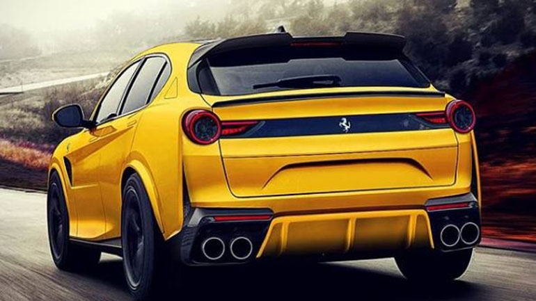 Ferrari может выпустить конкурента Lamborghini Urus
