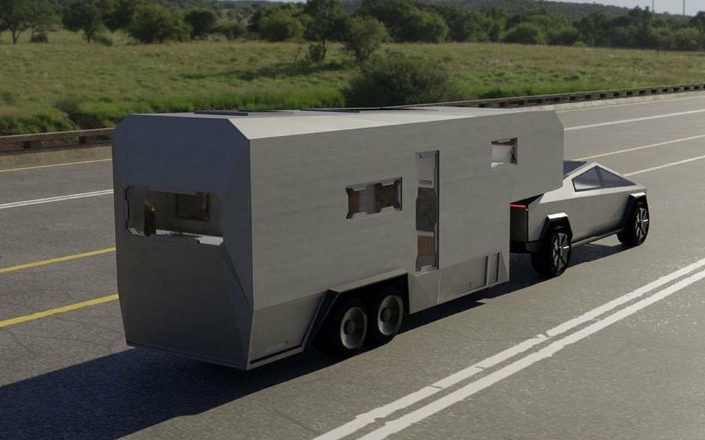 Пикапа Tesla Cybertruck еще нет, а автодом уже придумали