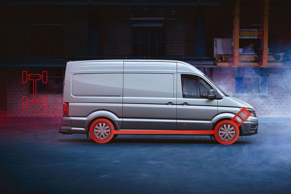 В Украине представили новый спецавтомобиль на базе VW Crafter