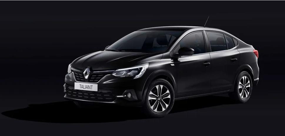 Renault новый бюджетный седан Taliant