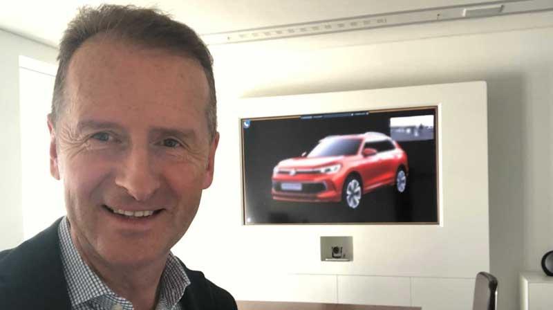 Глава Volkswagen «засветил» новенький кроссовер