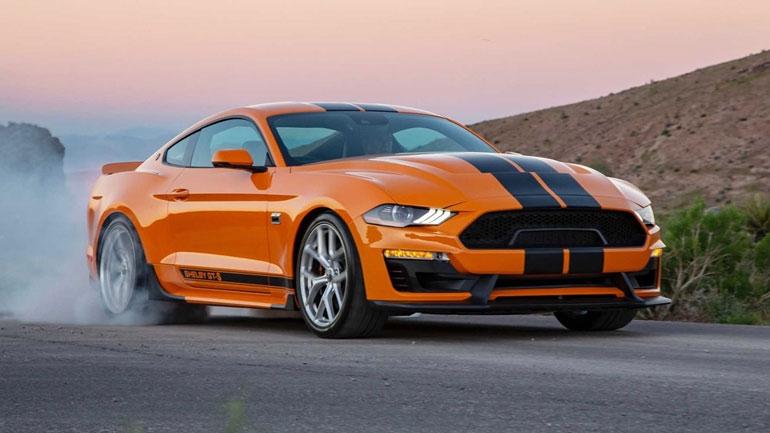 Ford представила особую версию Mustang Shelby GT-S для проката