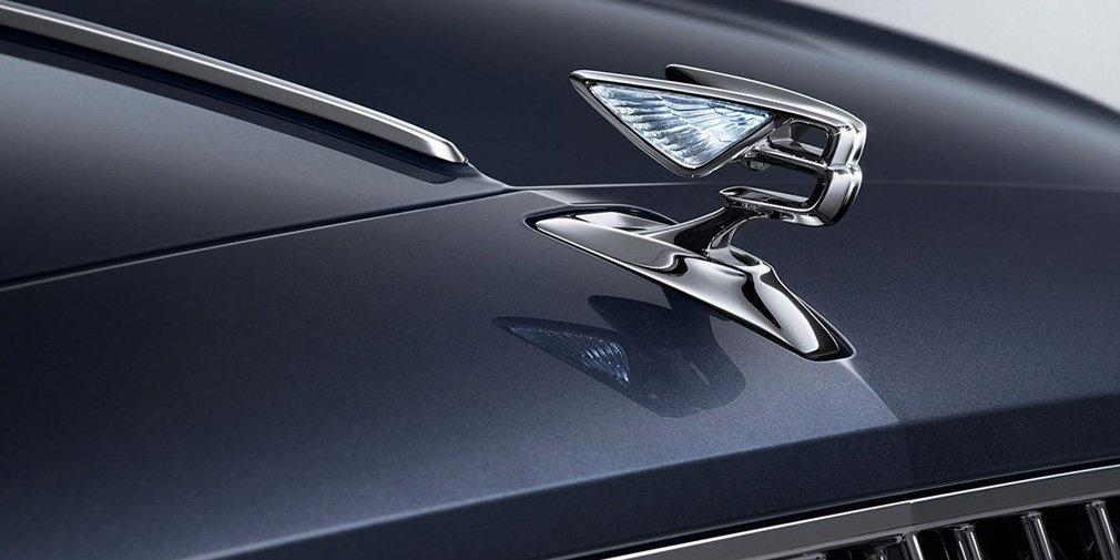 Bentley опубликовала первое изображение нового Flying Spur