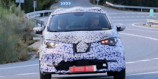 В сети всплыли новые изображение Renault ZOE 2