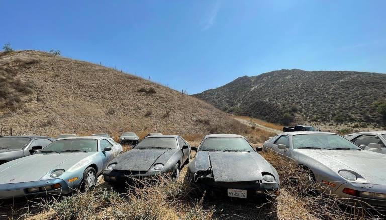 Как выглядит свалка раритетных Porsche (фото)