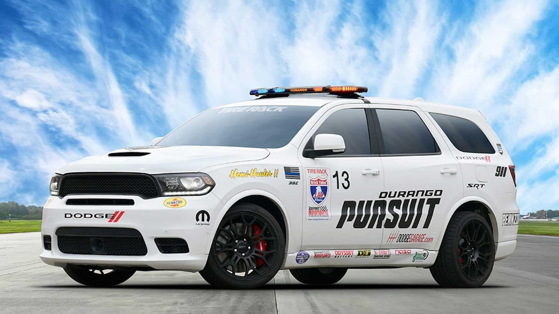 Dodge превратил Durango SRT в 797-сильный внедорожник Pursuit Speed Trap
