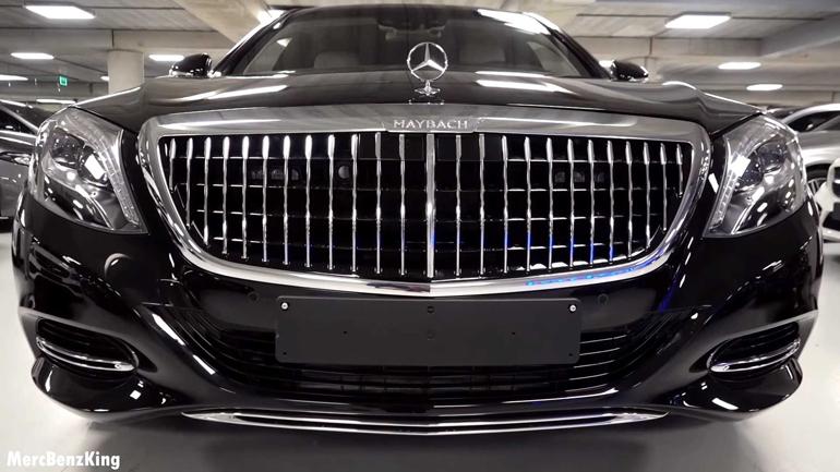 Mercedes-Maybach S600 Pullman Guard 2019 показали на видео