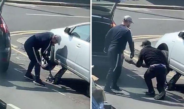 Лондон накрыла волна автокраж: у машин срезают глушители