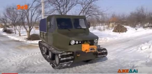 Украинец создал вездеход: машина поедет в любую погоду (видео)