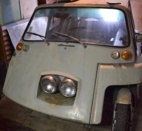 В Минске найден уникальный микро-автомобиль на базе мотоцикла «Ява»