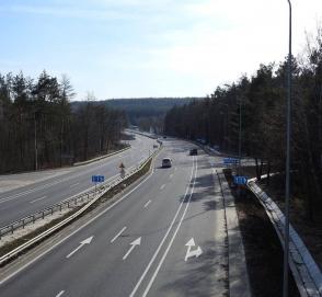 Трассу Киев - Одесса сделают частично бетонной