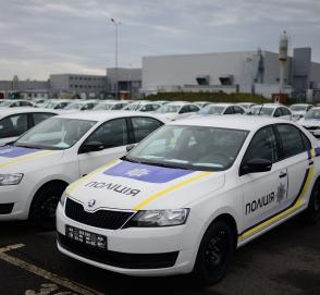 Нацполиция получит две сотни новых автомобилей