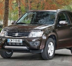 Suzuki работает над Grand Vitara нового поколения
