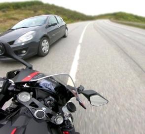 «Расколбас» на встречке: мотоциклист ехал смертельно быстро