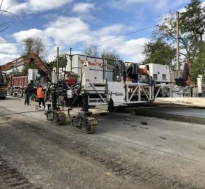 Как продвигается бетонирование трассы Кропивницкий – Николаев