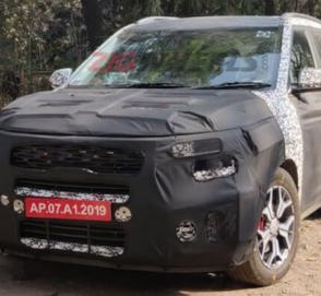 Kia «выкатила» на тесты спортивный кроссовер на базе Hyundai Creta