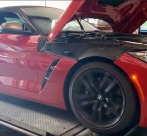 Новый BMW Z4 M40i показал всю свою мощность