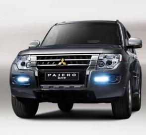 Компания Mitsubishi слегка обновила внедорожник Pajero
