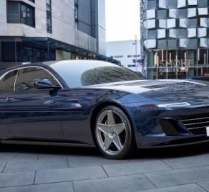 Ателье Ares Design осовременило классический гранд-турер Ferrari