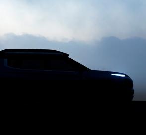 Mitsubishi показала силуэт нового кроссовера