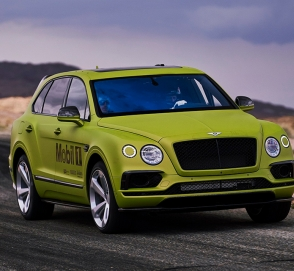 Bentley завершает подготовку кроссовера Bentayga к гонке на Пайкс-Пик