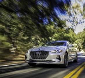 Hyundai планирует спортивную версию Genesis G70