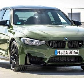 BMW презентовала лимитированную M3 Urban Green