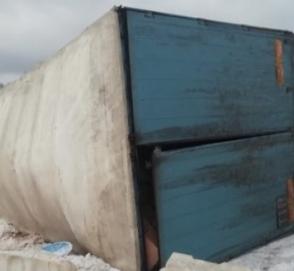 В Беларуси перевернулся грузовик с 4 миллионами яиц