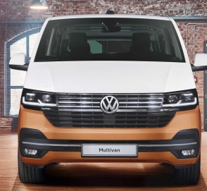 Volkswagen обновил Multivan до версии T6.1