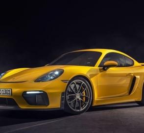 Новый Porsche 718 Boxster GT4 получил 420-сильную «шестерку»