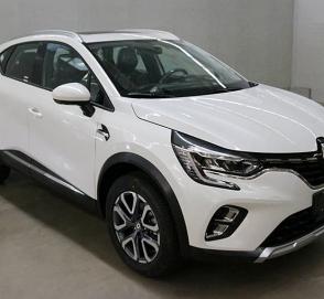 Новый Renault Captur: фотографии и размеры